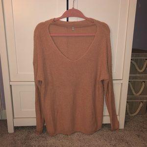American Eagle Choker Sweater